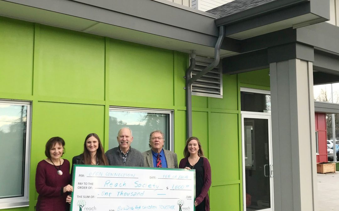 Open Connection Ladner Donates