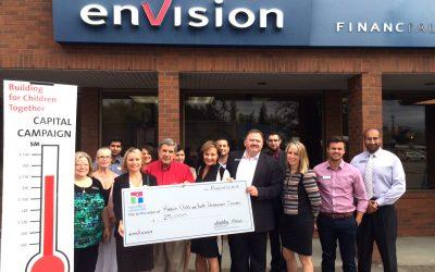 Envision Financial Donates $25,000 To Reach