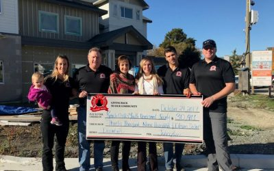Delta Firefighters Donate Almost $31,000 To Building For Children Together