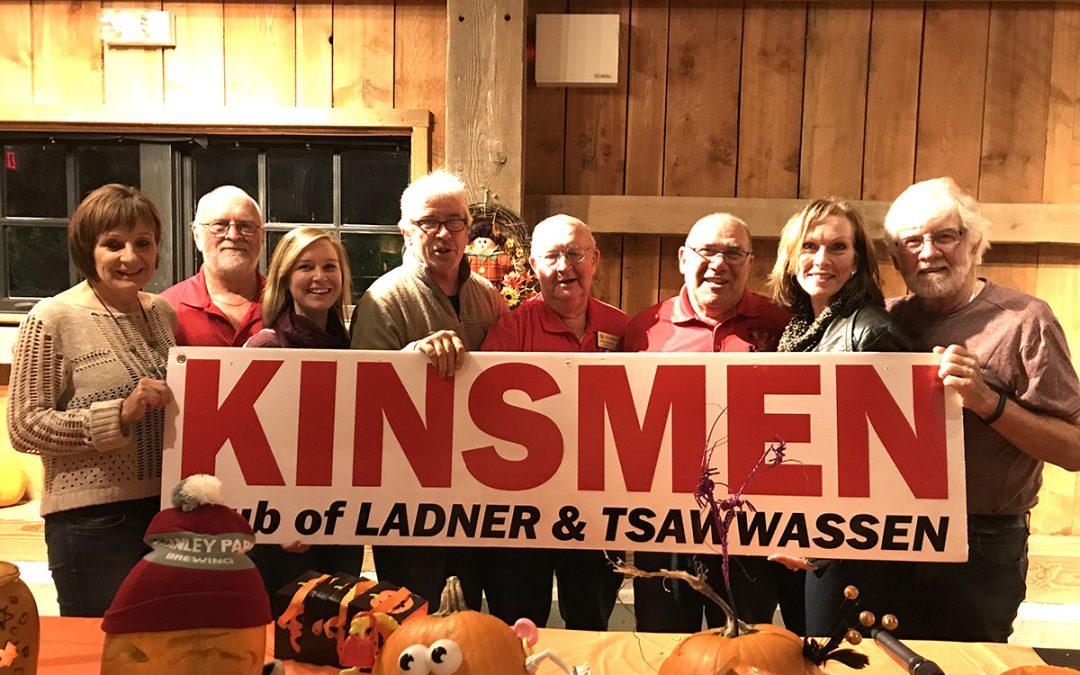 Kinsmen Club Donate $1000