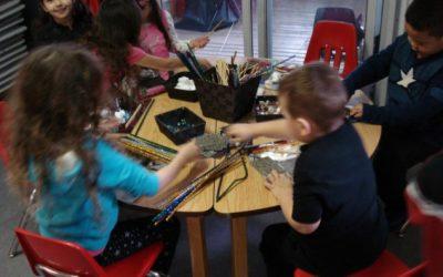 Loose Parts Play at Reach North Delta Preschool