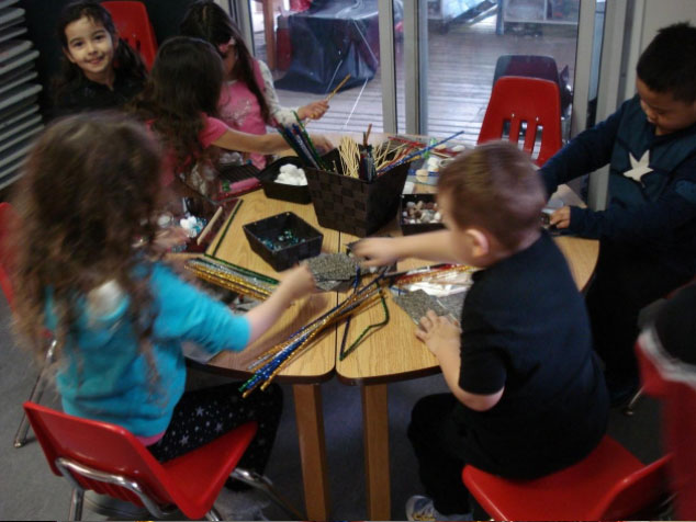 Loose Parts Play at Reach North Delta Preschool