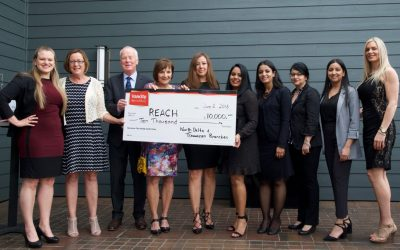 North Delta and Tsawwassen Vancity Branches Support REACH