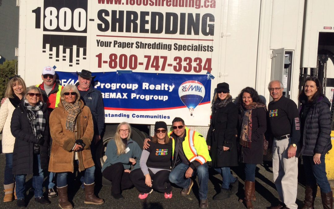 Reach Shredding Fundraiser Raises $7022
