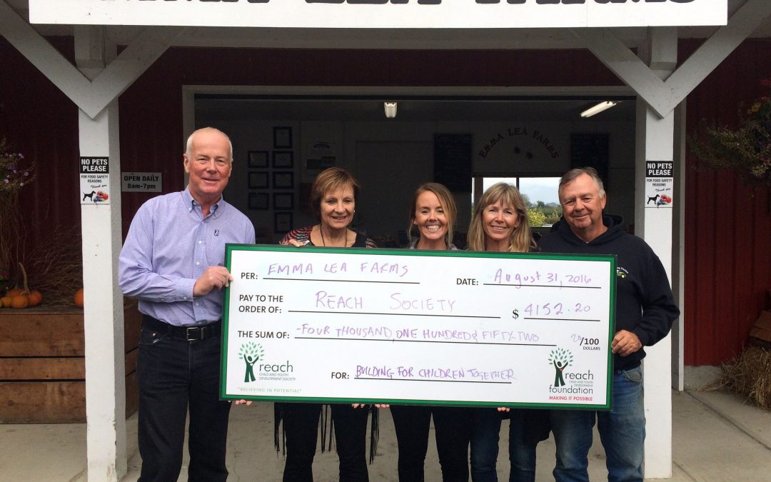 Emma Lea Farms Donate In A Berry Big Way