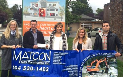 Matcon Civil Constructors Inc. Donates $20,000 To Reach
