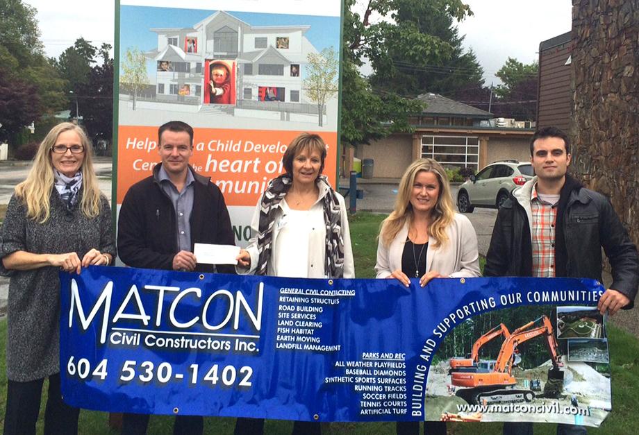 Matcon Civil Constructors Inc. Donates $20,000 To Reach