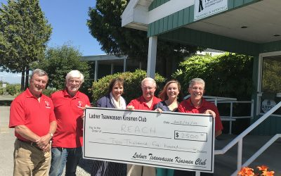 Kinsmen Of Ladner Tsawwassen Donate $2500