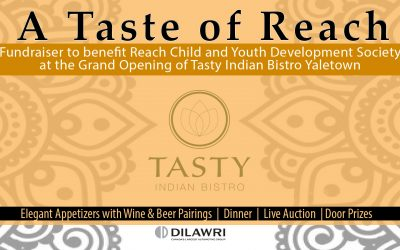Announcing A Taste of Reach Fundraiser