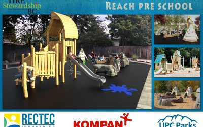 TSBC provides surfacing for REACH North Delta Playground