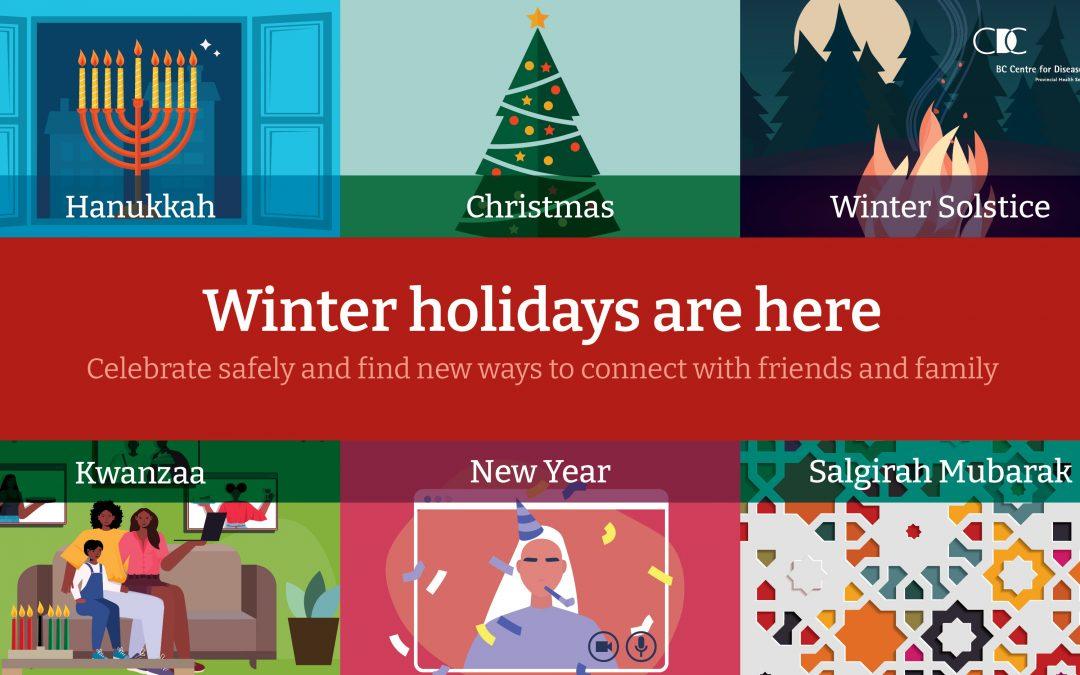 Celebrating Winter Holidays Safely